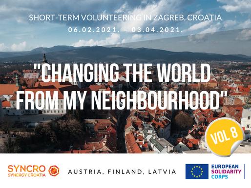 SHORT-TERM VOLUNTEERING (ESC)│Zagreb, Croatia 🇭🇷│Changing The World From My Neighbourhood