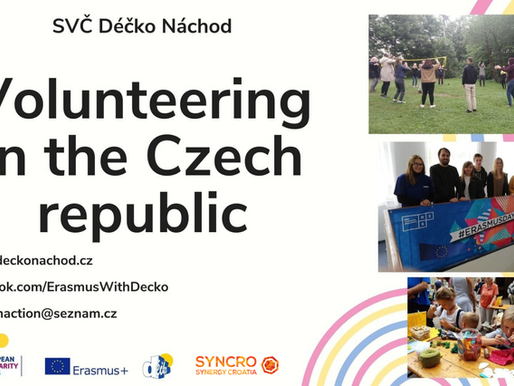 LONG-TERM VOLUNTEERING (ESC)│Náchod, Czech Republic 🇨🇿│