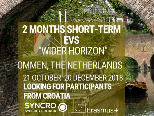 Short-term EVS│Ommen, The Netherlands 🇳🇱│Olde Vechte Foundation