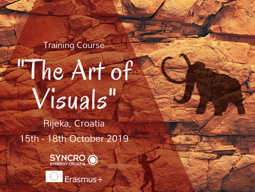 TRAINING COURSE │ Rijeka, Croatia 🇭🇷 │  The Art of Visuals