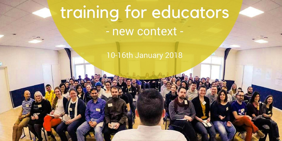 """Training for Trainers """"New Context"""""""