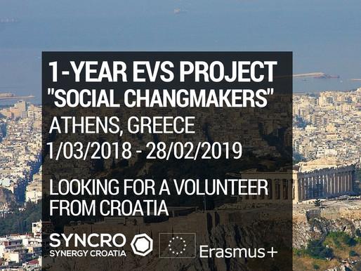 EVS in Greece - Social Changemakers