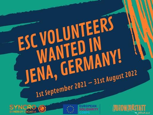 LONG-TERM VOLUNTEERING (ESC)│JENA, GERMANY 🇩🇪│EUROWERKSTATT JENA