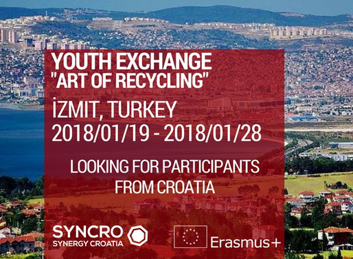 "Youth Exchange in Turkey ""Art of Recycling"""