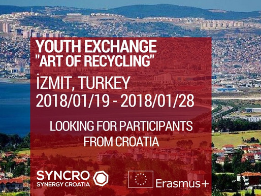 """Youth Exchange in Turkey """"Art of Recycling"""""""