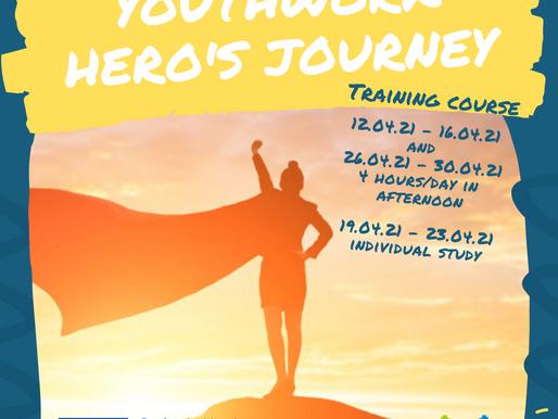 TRAINING COURSE│ONLINE│Youthworker Hero's Journey