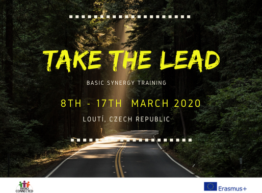 TRAINING COURSE │ LOUTÍ, Czech Republic 🇨🇿 │ Take the Lead