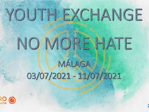 YOUTH EXCHANGE│MALAGA, SPAIN 🇪🇸│NO MORE HATE
