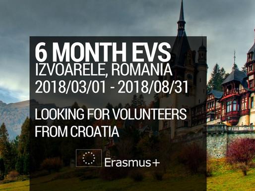 """EVS in Romania """"Volunteer to Grow"""""""