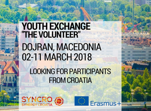 Youth Exchange│Dojran, Macedonia 🇲🇰│the Volunteer