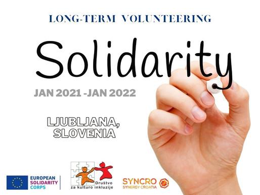LONG-TERM VOLUNTEERING (ESC)│LJUBLJANA, SLOVENIA 🇸🇮│SOLIDARITY