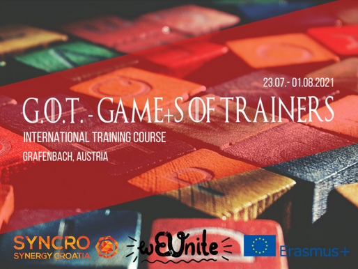 TRAINING COURSE│GRAFENBACH, AUSTRIA 🇦🇹│G.O.T. - GAME+s OF TRAINERS