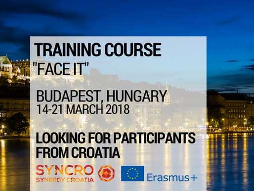 Training Course │Budapest, Hungary 🇭🇺│Face IT