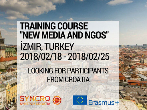 "Training Course in Turkey ""New media and NGOs"""