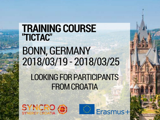 """Training Course in Germany """"TICTAC"""""""