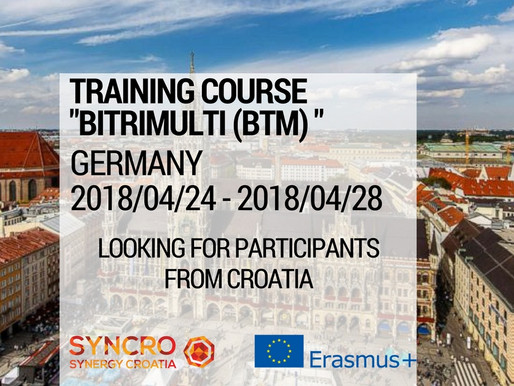 """Training Course in Germany """"BiTriMulti (BTM)"""""""