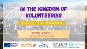 SEMINAR│CYPRUS│In the Kingdom of Volunteering: The Mentors Journey