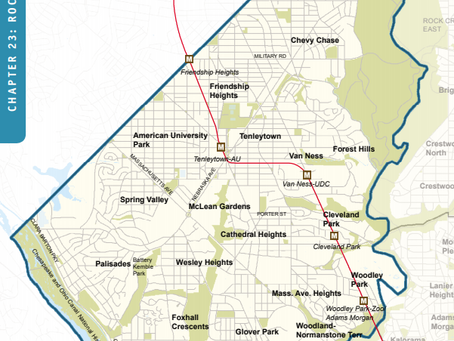 New and Revised Comprehensive Plan Policies for Rock Creek West