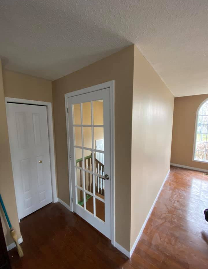 French door & wall build