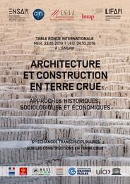 Journées sur l'architecture et la construction en terre crue