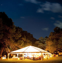 Marquee to hire for events