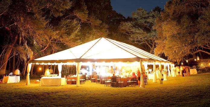 森の中での結婚式、披露宴会場、おもてなし