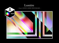 ルミエール 光のアトリエ-エスパス LANVIN 130周年-