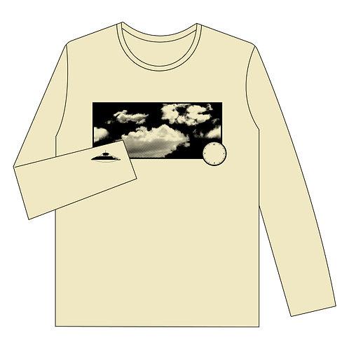 ロングTシャツ「たまにUFO」baby YELLOW