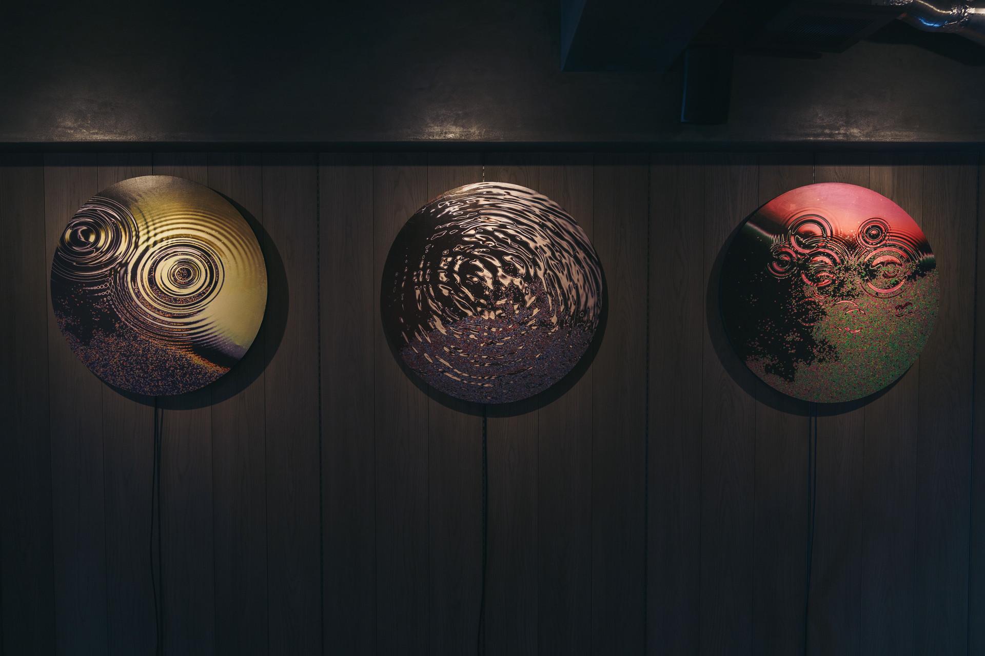 個展「not colored yet」京都巡回