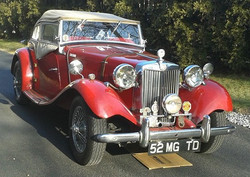 1953 MG T-TYPE ROADSTER