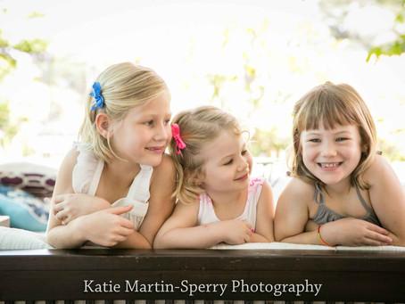 Three little ladies