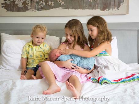 The gorgeous Georgina & family