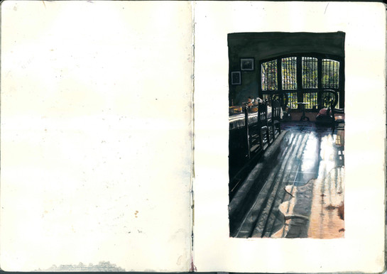 Many different pages of Sketchbooks-4.jp
