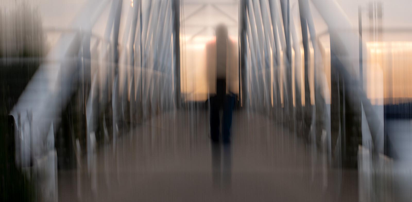 COLOUR - Bridge Walker by Julian Maitland (12 marks)
