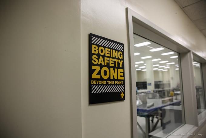BOEING SAFETY ZONE