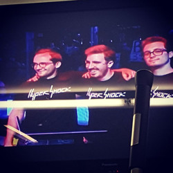 WE WERE ON THE TV!
