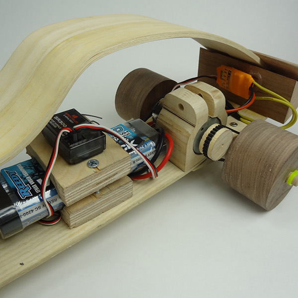 Wooden RC Car