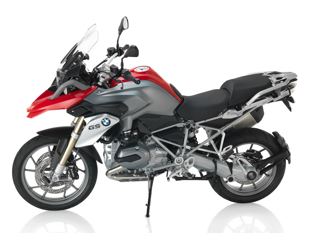 2016 BMW R1200GS - Racing Red