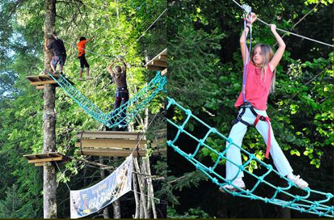Parcours Acrobatiques en forêt
