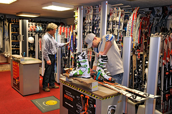 Chaussez vos skis chez Didier Bouvet