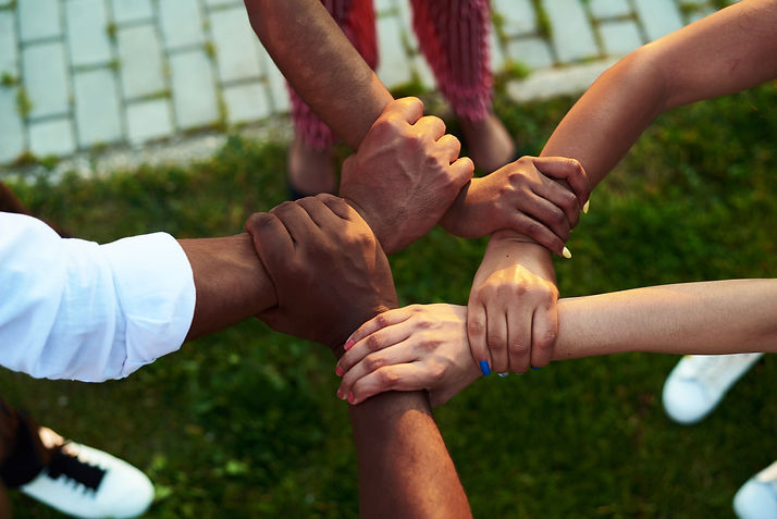 close-up-black-people-with-hands-joined.