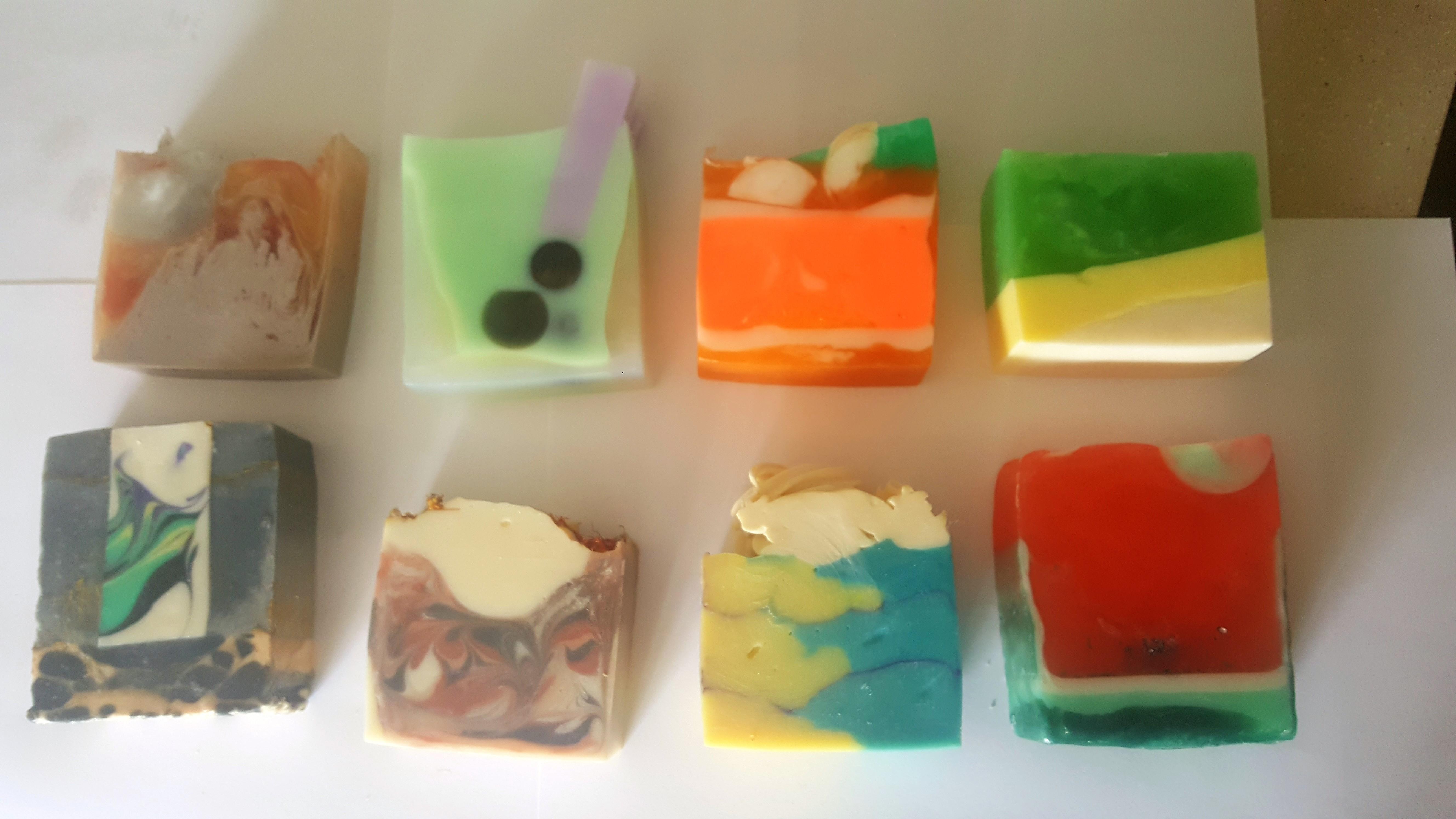 30 June 2018 - Handmade soaps