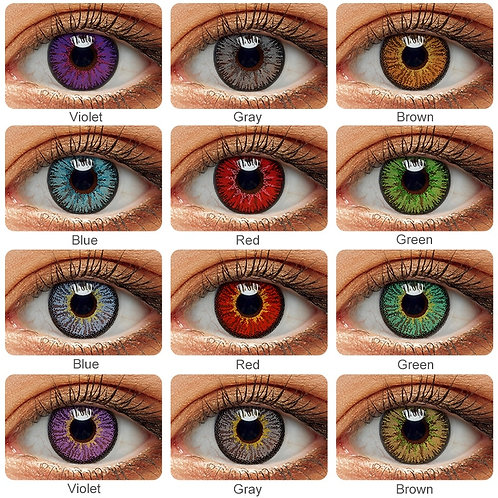 1Pair(2pcs) Contact Lenses for Eyes Cosplay