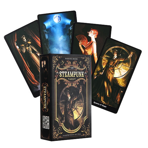 The Steampunk Tarot Cards Deck Oracle Electronic Guide