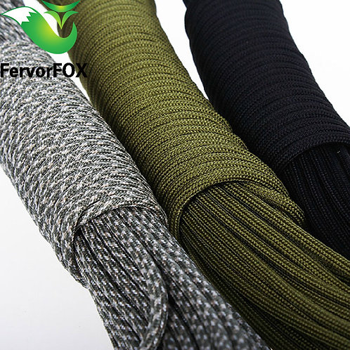 5 Meters  Dia.4mm 7 Stand Cores Paracord for Survival