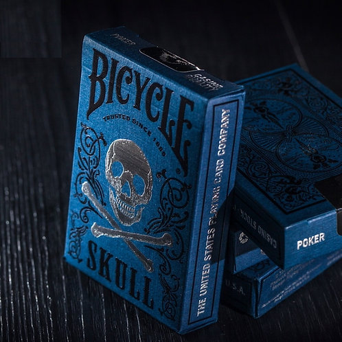 1pcs Original Bicycle Cards Luxury Skull Playing Cards