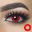 Thumbnail: 2pcs/Pair Halloween Cosplay Colored Contact Lenses