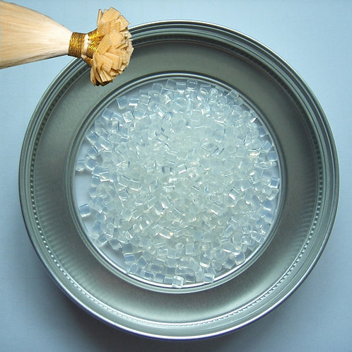 100g Italian Keratin Glue Granule ,Non-Toxic, Tasteless,  Fusion Beads 3 COLOR