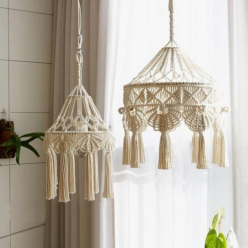 Boho Decoration Cotton Cord Hand-Woven Macrame