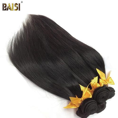 BAISI Hair Unprocessed Peruvian 10A Raw Virgin Hair